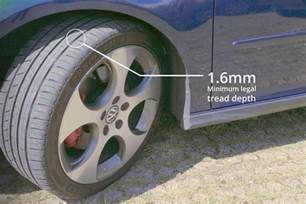 Car Tyre Regulations Uk How To Check Your Tyres Condition Pressure And Tread Depth