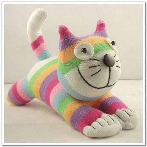 sock cat free shipping handmade sock cheshire cat stuffed animal baby
