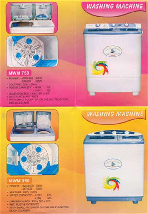 Mixer Maspion Electronic Market Maspion Washing Machine