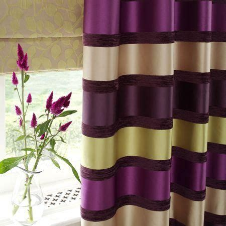 curtains purple and green stripe drapes purple green purple and green striped