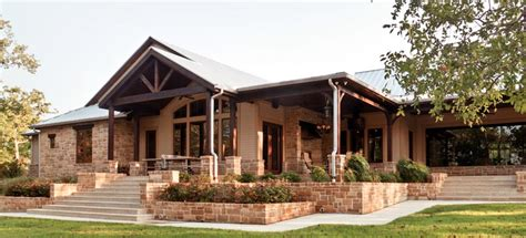 texas hill country style homes nathan winchester architect residential steines
