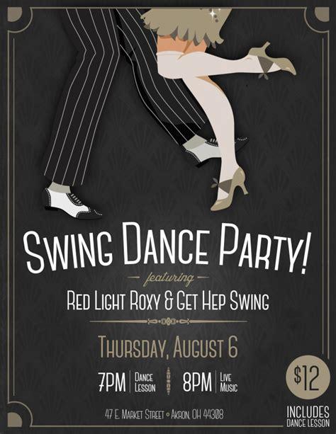 swing dance party blu jazz quot swing dance party quot w red light roxy get