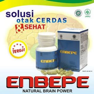 Nutrisi Otak Dewasa Herbal Nasa Enbepe enbepe brain power inti herbalindo