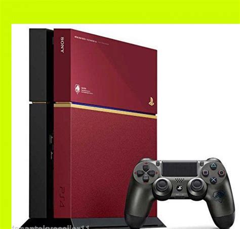 Console Ps 4 Metal Gear Solid V The Phantom Edition playstation4 console metal gear solid v phantom ps4 mgs5 limited sony 4948872447218 ebay