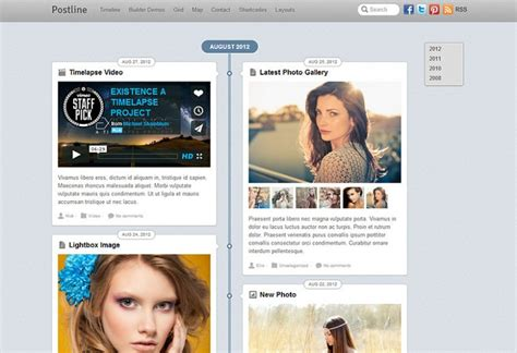 facebook timeline themes and skins free download 20 best facebook timeline style wordpress themes 2018