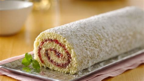 Roll Cake jelly roll cake recipe from betty crocker