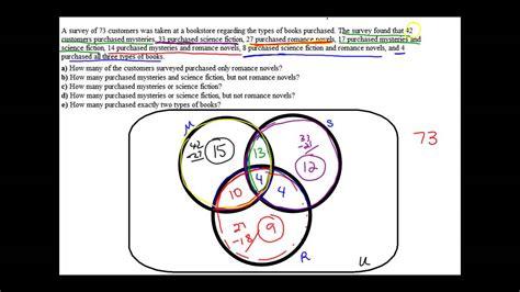 application of venn diagram problems 2 5 venn diagram application problem 3 sets
