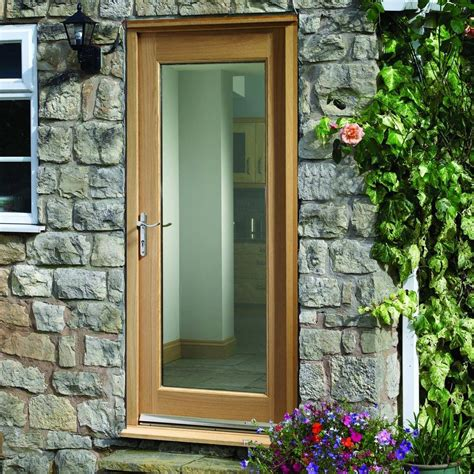 Glazed Exterior Doors Made To Measure Exterior Pane Door Glazing