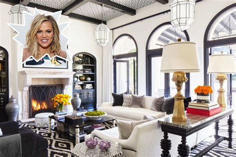9 celebrity bedrooms that are truly star worthy sanctuaries khloe kardashian the coolest celebrity living rooms lonny