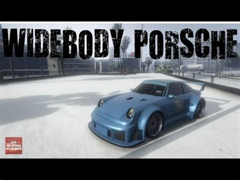 retro porsche custom rwb porsche comet retro custom build gta 5