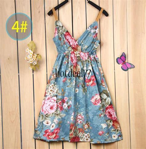 sundress maxi tunic halter strappy dress boho skirt vest rural braces ebay