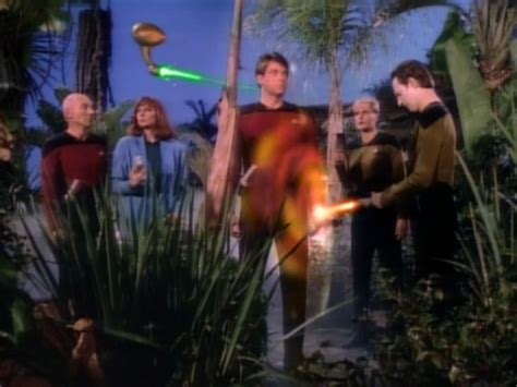 arsenal of freedom the arsenal of freedom tng s1 e21 review the battle
