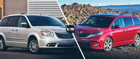 Toyota Town And Country 2015 Chrysler Town And Country Vs 2015 Toyota