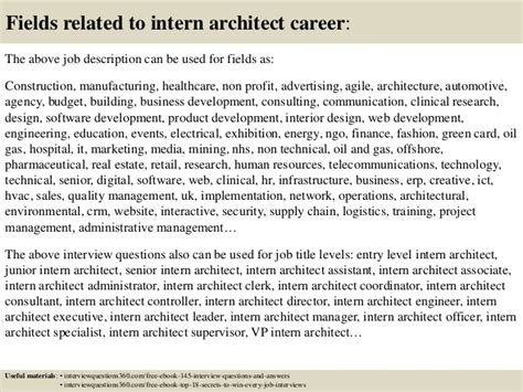 design editor responsibilities top 10 intern architect interview questions and answers