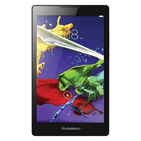 Tablet Lenovo Lollipop lenovo tab 2 a8 wi fi tablet 8 screen 1gb memory 16gb storage android 5 0 lollipop by office