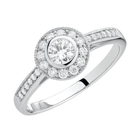 Engagement Ring With 1 Carat Tw Of Diamonds In 14ct Yellow by Engagement Ring With 1 2 Carat Tw Of Diamonds In 18ct