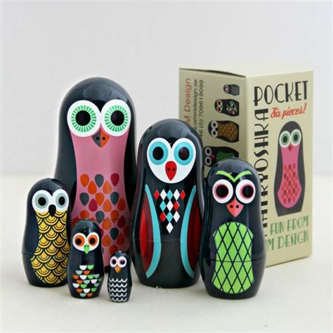 design a nesting doll pocket owl nesting dolls by posh totty designs interiors