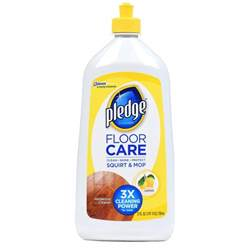 Pledge Wood Floor Cleaner by Pledge Ready To Use 27 Oz Wood Floor Cleaner 6 Pack