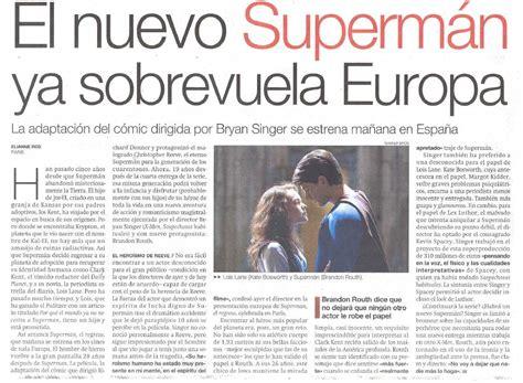 comentarios de noticias y articulos superman julio 2006 1