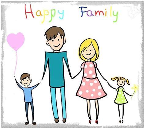 imagenes reflexivas de familia fotos de familias en dibujos animados archivos imagenes