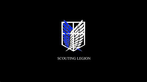 Kaos Scouting Legion Attack On Titan Wings Anime scouting legion wallpaper by avatarlr on deviantart