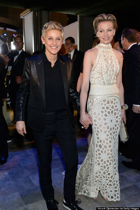 and portia 2014 degeneres and portia de are the picture of