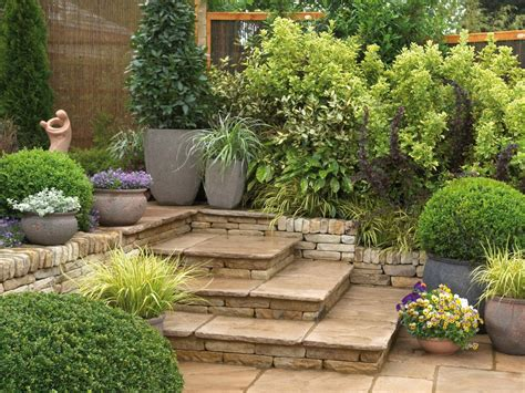Low Maintenance Gardens Ideas Garden Landscaping Designs Also Small Landscape Images