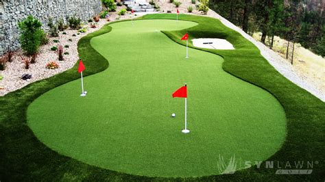 synlawn chesapeake bay products golf putting greens