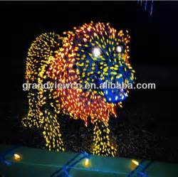 led lightup animals lion zoo light for christmas buy
