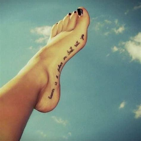 side foot tattoos awesome foot and flip flop designs