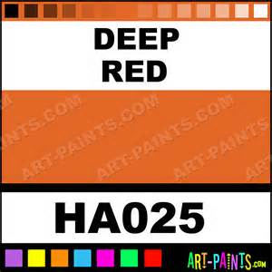deep red irodori antique watercolor paints ha025 deep