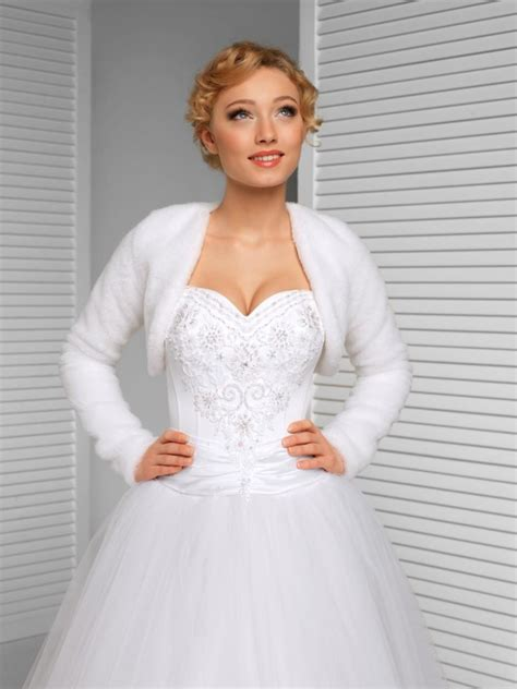 braut bolero winter winter bridal bolero warm bridal jacket white ivory black