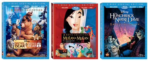 disneys brother bear movie dvd blu ray trailer woning disney s brother bear mulan the hunchback of notre dame