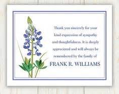 thank you card wording thank you card after funeral sympathy thank you cards personalized