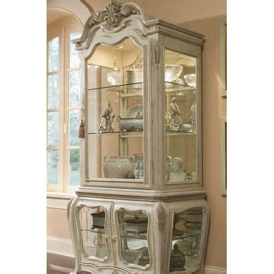 dining room curio cabinets michael amini lavelle china cabinet wayfair dining