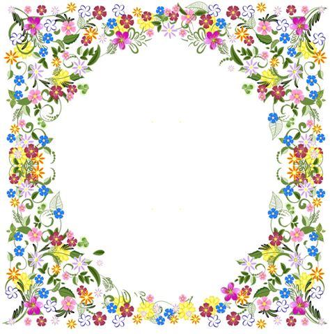 frame design flower frame design flower clipart 50
