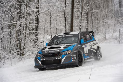 subaru rally race 2014 subaru wrx sti rally america race car front end in