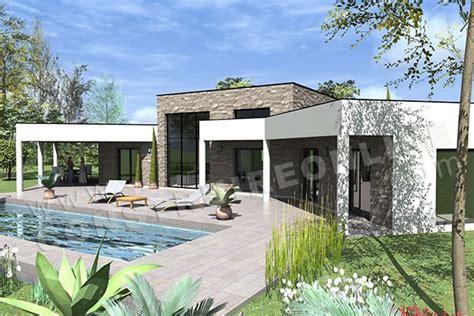 Garage Plans Online Plan De Maison Contemporaine Amazone
