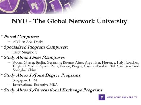 Global Executive Mba Nyu by 304 International Compliance Programs For Colleges And