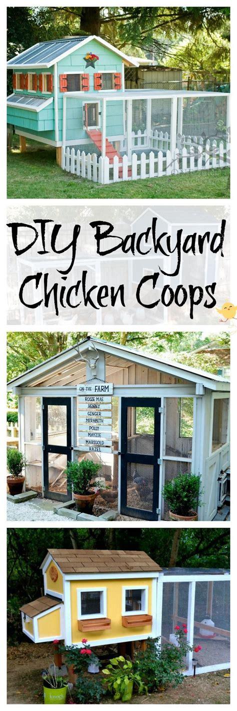 diy backyard chicken coop best 20 chicken coop decor ideas on chicken