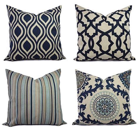 decorative pillows decorative pillow blue and beige decorative pillow