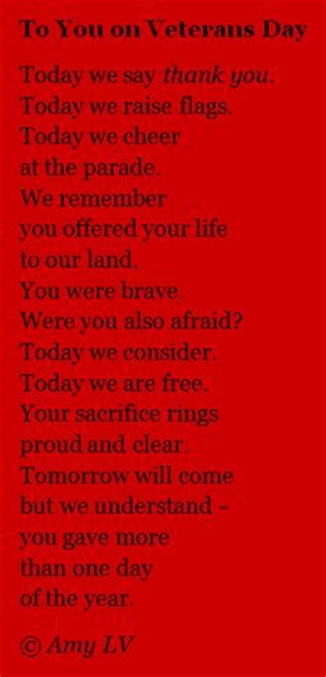 veterans day thank you poems veterans day tribute available at www sermonspice com a