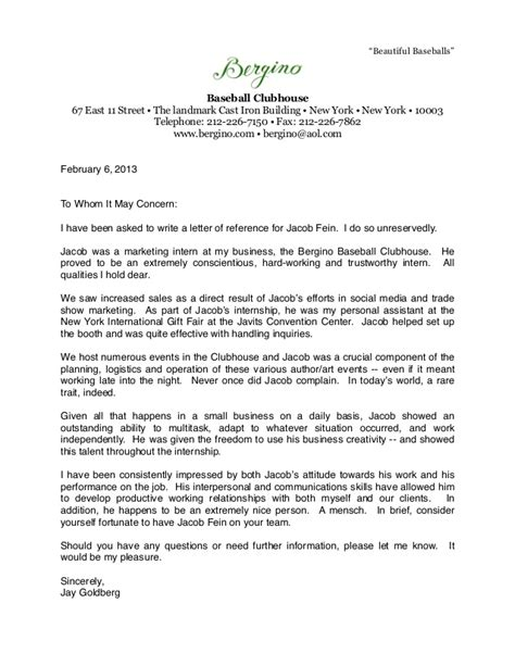 Recommendation Letter Sle For A Student Athlete Bergino Baseball Clubhouse Letter Of Recommendation