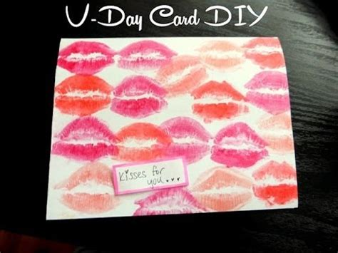 diy rugged s day card diy kisses for you s day card