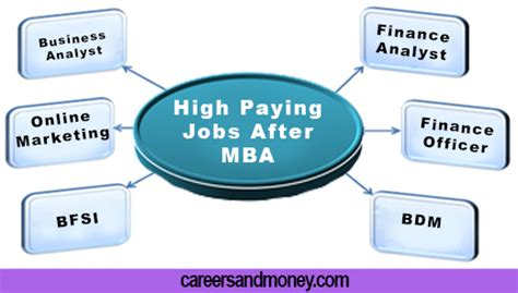 After Mba Pharmaceutical Management by High Paying And Career Choices After Mba