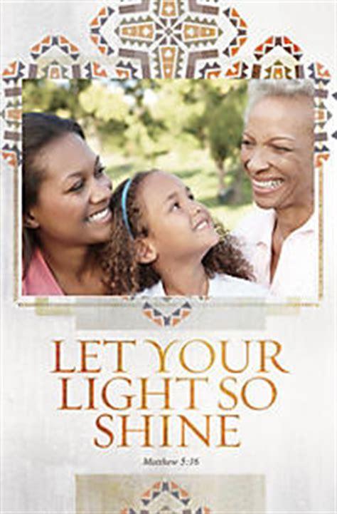 let your light shine broadman church supplies staff