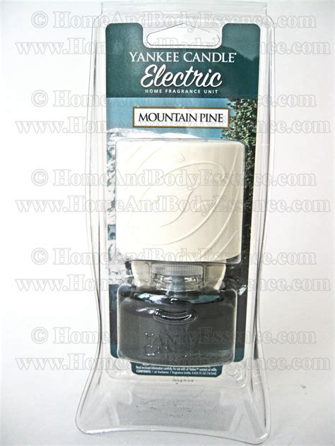 yankee candle mountain pine electric home fragrance