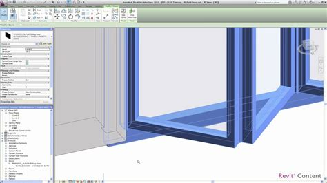 revit curtain wall door revit curtain wall door family