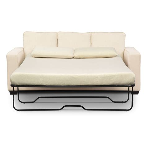 Sterling Innerspring Sleeper Sofa With Chaise Beige Sleeper Sofa With Chaise Lounge