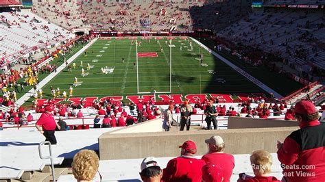 memorial stadium section 16b rateyourseats